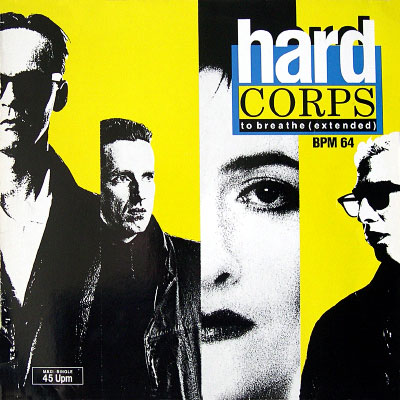 Hard Corps 'To Breathe' West German 12″ front sleeve design