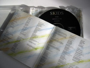 Original Track records CD issue - insert and label