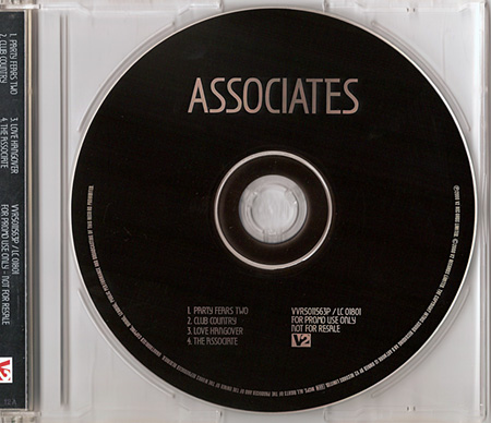 ^ Scan of the CD label design