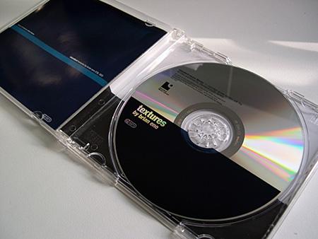 'Textures' CD - disc label