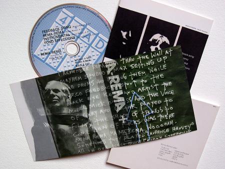 'Wheel In The Roses' CD EP - insert centre spread