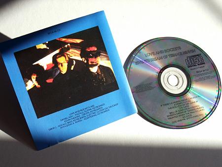 Original UK CD (rear of insert and CD label)