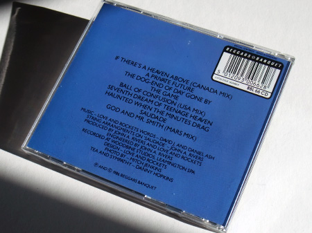First UK 'Lowdown' series CD re-issue (rear case)