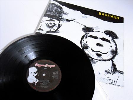 Mask 1981 UK LP - front sleeve and original label design