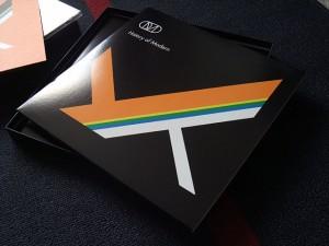 The vinyl LP front cover design