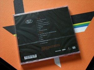 The CD of the album (rear)