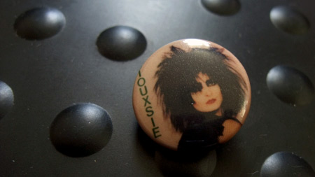Siouxsie badge, circa 1982