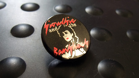 Siouxsie and the Banshees button badge from circa 1981