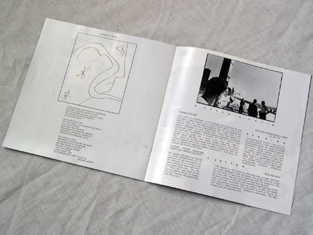 'From Brussels With Love' cassette booklet inner detail spread 5