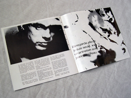'From Brussels With Love' cassette booklet inner detail spread 6