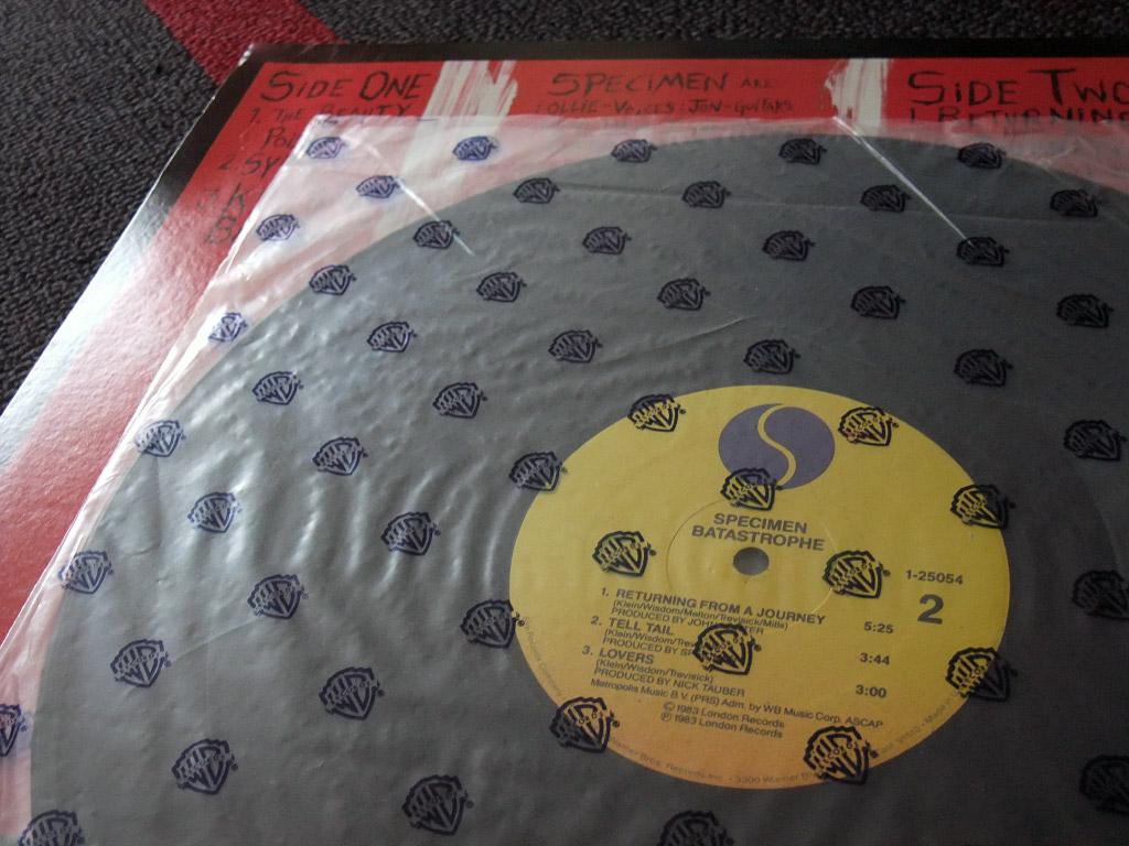 Specimen 'Batastrophe' label design side 2
