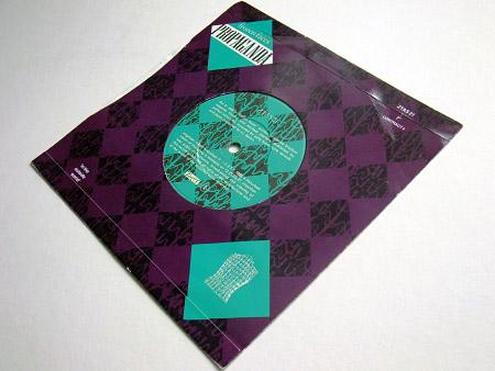 Back cover/label design