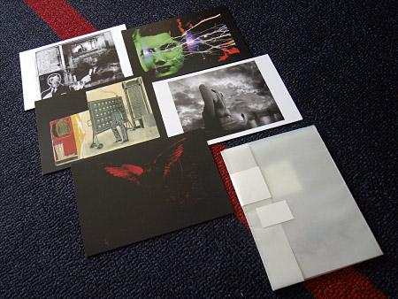 John Foxx - 'Science Fiction Stories' postcard set - landscape format cards