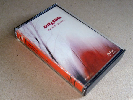 The Cure 'Seventeen Seconds' cassette