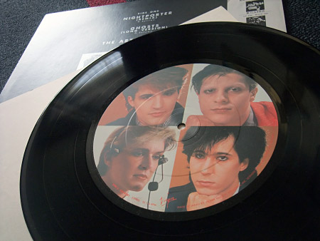 Japan - 'Nightporter' Japanese pic label 12 inch single - side B label design