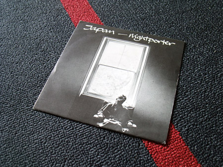 Japan 'Nightporter' UK 7 inch single sleeve