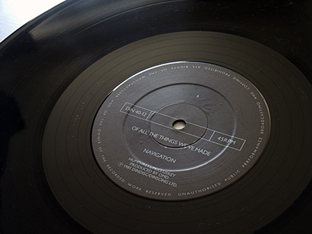 'Maid of Orleans' label design 1 - side B