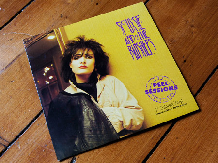 Siouxsie and the Banshees - The Peel Sessions 1977-78 7 inch EP front cover