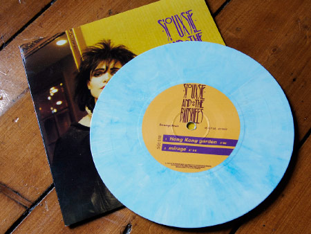 Siouxsie and the Banshees - The Peel Sessions 1977-78 7 inch EP label - side one