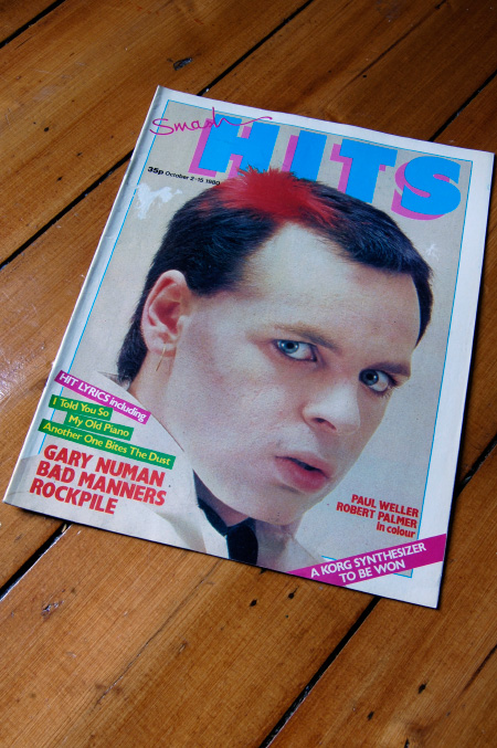 Smash Hits 2-15 October 1980 cover design