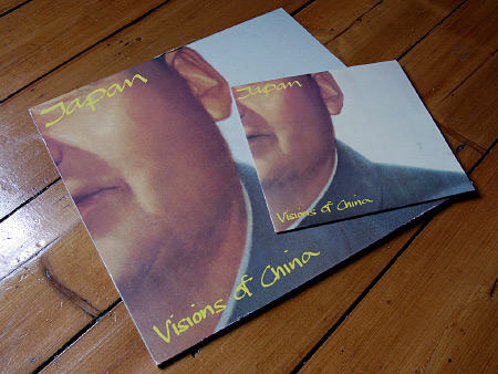 Japan 'Visions of China' 7 and 12 inch singles - front sleeves