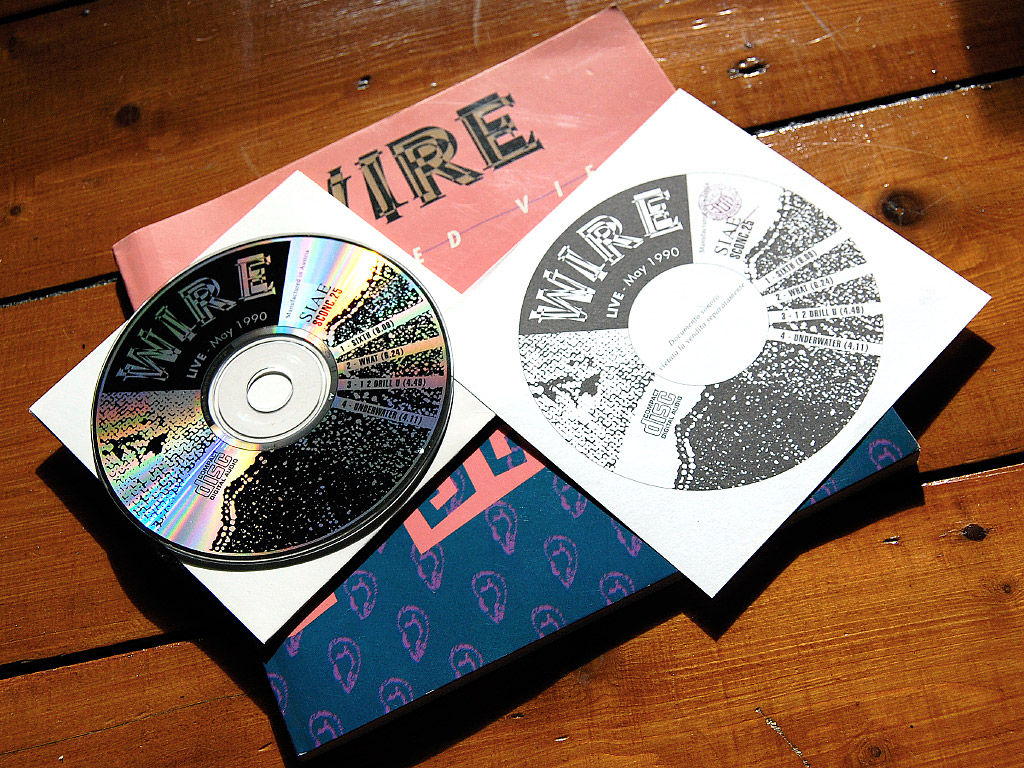 Wire - 'Exploded Views' live CD