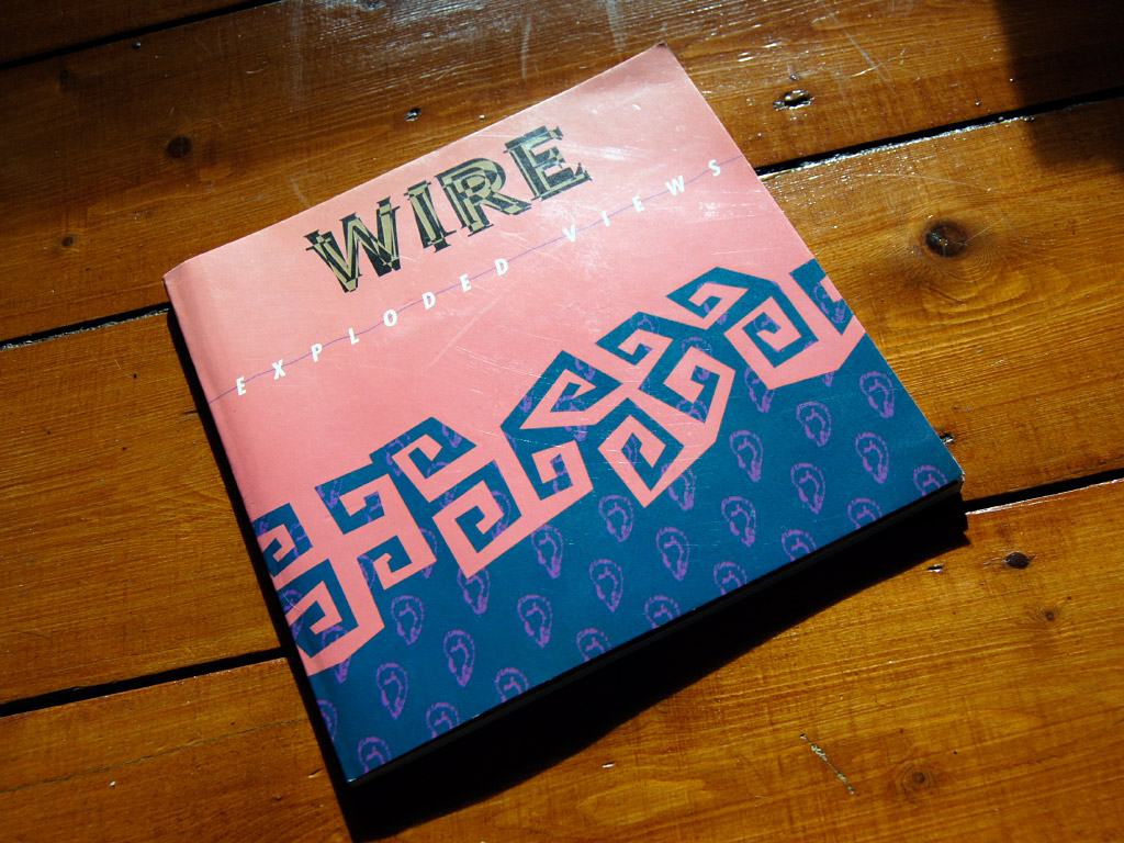Wire - 'Exploded Views' book, front cover