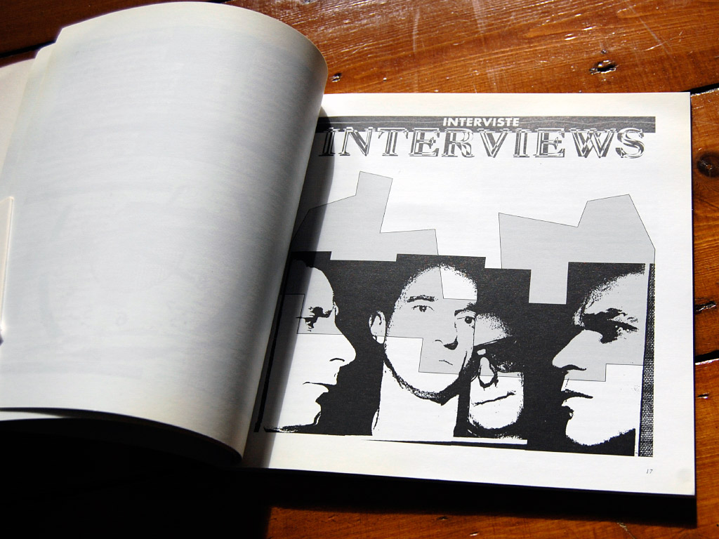 Wire - 'Exploded Views' book - interviews title page