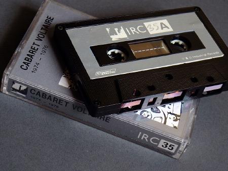 Cabaret Voltaire '1974-1976' cassette, side A