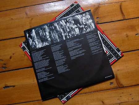 He Said 'Take Care' inner sleeve (rear)