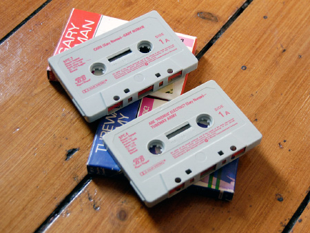 Gary Numan / Tubeway Army 1981 re-issue cassingles - cassettes A