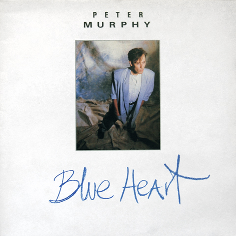 UK Blue Heart 12 inch single front cover