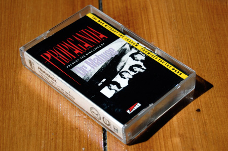 Propaganda - The Nine Lives of Dr Mabuse - cassette single inlay and case - front