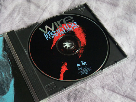 Wire - Life in the Manscape US CD single label design