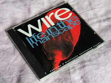 Wire - Life in the Manscape US CD front insert design