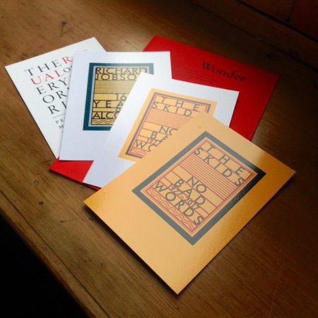 Richard Jobson 'No Bad Words 1977-2017' additional flyers included in the package