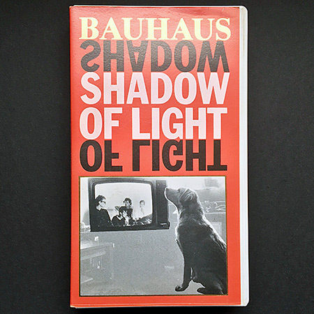 Bauhaus 'Shadow of Light' front cover design