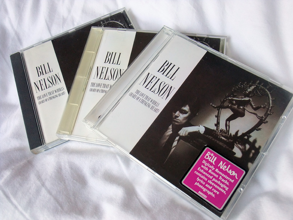 Bill Nelson 'The Love That Whirls' CDs