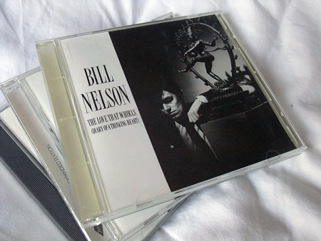 Bill Nelson 'The Love That Whirls' US Enigma/Cocteau Records CD front cover