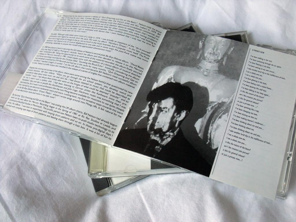 Bill Nelson 'The Love That Whirls' UK Mercury Records CD inner spread 3