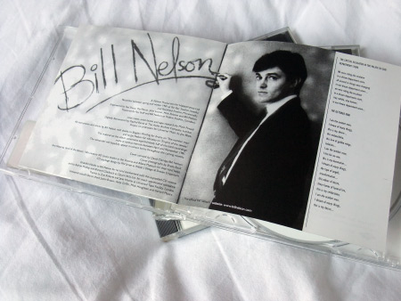 Bill Nelson 'The Love That Whirls' UK Mercury Records CD inner spread 5