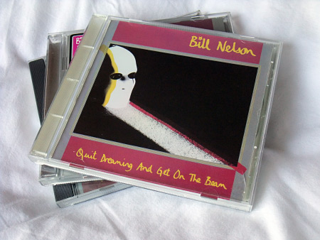 Bill Nelson 'Quit Dreaming And Get On The Beam' US Enigma/Cocteau Records CD front cover