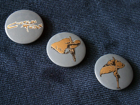 Cocteau Twins 1984 badge set 1