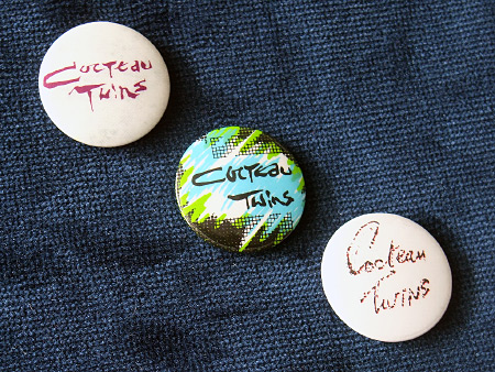 Cocteau Twins 1984 badge set 2