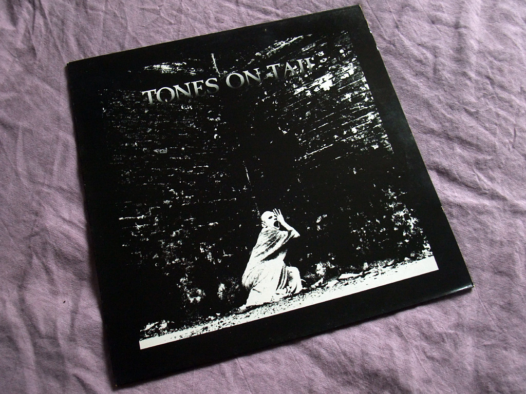 Tones On Tail - Burning Skies / OK This is The Pops 12 inch single front cover
