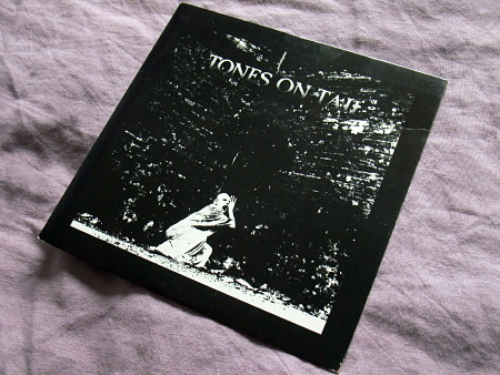 Tones On Tail - Burning Skies / OK This is The Pops 7 inch single front cover