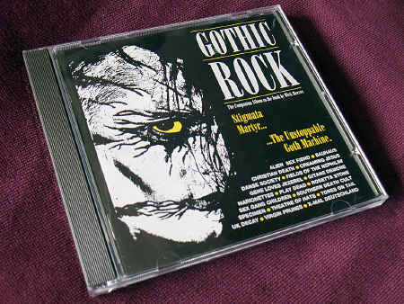 Gothic Rock compilation CD front cover