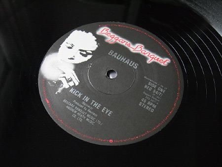 "Bauhaus - 'Kick In The Eye' 1981 UK 12"" label side A"