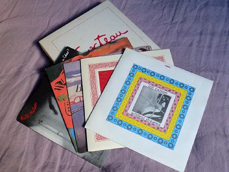 "Bill Nelson - '7"" Bill Nelson Singles' Box Set (Cocteau Records, JEAN 6) singles and box"