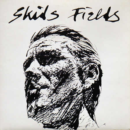 "Skids - 'Fields' 7"" - Richard Jobson sleeve design, front"